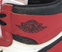 Michael Jordan Signed Pair of Air Jordan I Basketball Shoes (PSA LOA) at PristineAuction.com