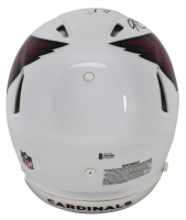 "Kyler Murray Signed Arizona Cardinals Full-Size Authentic On-Field Speed Helmet Inscribed ""Rise Up Red Sea"" & ""2019 #1 Overall Pick"" (Beckett COA) at PristineAuction.com"