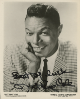"""Nat King Cole Signed 8x10 Photo Inscribed """"Best of Luck"""" (Beckett LOA) at PristineAuction.com"""