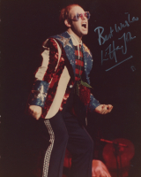 "Elton John Signed 8x10 Photo Inscribed ""Best Wishes"" (PSA COA) at PristineAuction.com"