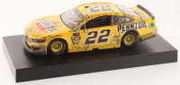 Joey Logano Signed 2019 NASCAR #22 Pennzoil - Las Vegas Win - Raced Version - 1:24 Premium Action Diecast Car (Action COA) at PristineAuction.com