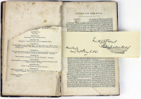 """Charles Dickens Signed """"American Notes"""" Hard-Cover Book Inscribed """"Faithfully Yours"""" (PSA LOA)"""