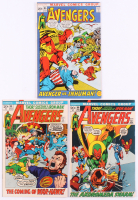 """Lot of (3) 1972 """"The Avengers"""" 1st Series Marvel Comic Books with #95, #96 & #98 at PristineAuction.com"""