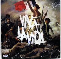 "Chris Martin Signed Coldplay ""Viva la Vida or Death and All His Friends"" Vinyl Record Album Cover (PSA COA) at PristineAuction.com"