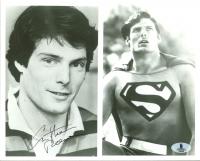 "Christopher Reeve Signed ""Superman"" 8x10 Photo (Beckett LOA)"