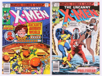 "Lot of (2) 1979 ""The Uncanny X-Men"" 1st Series Marvel Comic Books with #123 & #124 at PristineAuction.com"