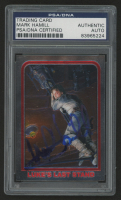Mark Hamill Signed 1999 Star Wars Chrome Archives #59 Luke's Last Stand (PSA Encapsulated)