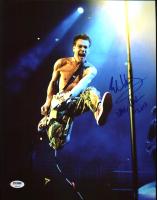 "Eddie Van Halen Signed 11x14 Photo Inscribed ""Van Halen 2010"" (PSA COA) at PristineAuction.com"