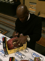 "Emmitt Smith Signed Official Super Bowl XXX Game Ball Inscribed ""SB XXX"" (PSA COA) at PristineAuction.com"