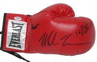 Muhammad Ali, Mike Tyson & Evander Holyfield Signed Boxing Glove (PSA COA)