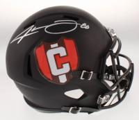 Jarvis Landry Signed Cleveland Browns Matte Black Full-Size Speed Helmet (JSA COA) at PristineAuction.com