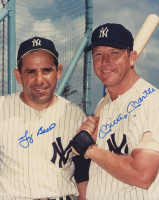 Mickey Mantle & Yogi Berra Signed New York Yankees 8x10 Photo (JSA ALOA) at PristineAuction.com