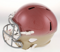 Joe Montana Signed San Francisco 49ers Full-Size Hydro-Dipped Speed Helmet (JSA COA) at PristineAuction.com