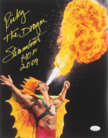"""Ricky """"The Dragon"""" Steamboat Signed 11x14 Photo Inscribed """"HOF 2009"""" (JSA COA) at PristineAuction.com"""