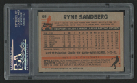 Ryne Sandberg Signed 1983 Topps #83 RC (PSA Encapsulated) at PristineAuction.com