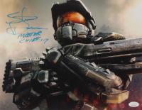 "Steve Downes Signed ""Halo"" 11x14 Photo Inscribed ""Master Chief 117"" (JSA COA)"