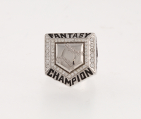 Fantasy Baseball Championship Ring from Fantasy Champs at PristineAuction.com