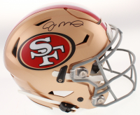 Joe Montana Signed San Francisco 49ers Full-Size Authentic On-Field SpeedFlex Helmet (Beckett COA) at PristineAuction.com