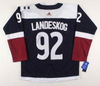 Gabriel Landeskog Signed Colorado Avalanche Captain's Jersey (JSA COA)