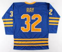 Rob Ray Signed Jersey (Beckett COA)
