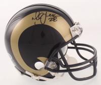 Marshall Faulk Signed Rams Mini Helmet (Beckett COA) at PristineAuction.com
