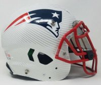 Tom Brady Signed New England Patriots Limited Edition Custom Hydro Dipped Full-Size Authentic On-Field Speed Helmet (Tristar Hologram & Steiner Hologram) at PristineAuction.com
