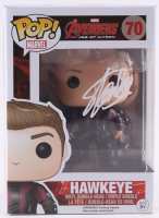 "Stan Lee Signed ""Avengers: Age of Ultron"" Hawkeye #70 Funko Pop! Vinyl Figure (Radtke COA & Lee Hologram) at PristineAuction.com"