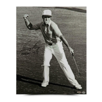 "Gary Player Signed 16x20 LE Photo Inscribed ""1978 Masters"" (UDA COA) at PristineAuction.com"
