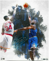 Shaquille O'Neal Signed Orlando Magic 16x20 LE Photo (UDA COA) at PristineAuction.com