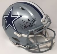 "Dak Prescott Signed Dallas Cowboys LE Full-Size Authentic On-Field Speed Helmet Inscribed ""ROTY 16"" (Steiner COA) at PristineAuction.com"