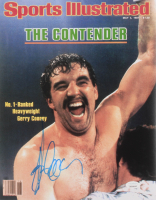 "Gerry Cooney Signed ""Sports Illustrated"" 11x14 Photo (JSA COA) at PristineAuction.com"