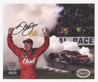 Dale Earnhardt Jr. Signed Limited Edition NASCAR #8 Budweiser 9x7 Photo #/1008 (Dale Jr. Hologram) at PristineAuction.com