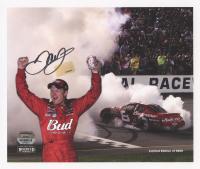 Dale Earnhardt Jr. Signed Limited Edition NASCAR #8 Budweiser 9x7 Photo (Dale Jr. Hologram) at PristineAuction.com
