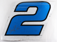 Brad Keselowski Signed Race-Used Reese #2 Sheet Metal (PA COA) at PristineAuction.com