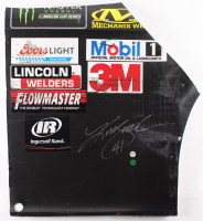 Kurt Busch Signed Race-Used Monster #41 Sheet Metal (PA COA) at PristineAuction.com