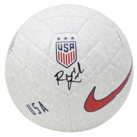 Rose Lavelle Signed Team USA Logo Soccer Ball (JSA COA) at PristineAuction.com