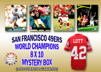 San Francisco 49ers Signed Mystery 8x10 Photo – World Champions Edition - Series 4 - (Limited to 116) **Ronnie Lott Jersey Redemption** at PristineAuction.com