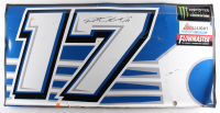 Ricky Stenhouse Jr. Signed Race-Used Fastenal #17 Full Door Sheet Metal (PA COA)