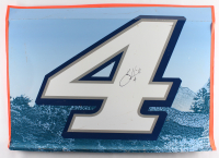 Kevin Harvick Signed Race-Used Busch Light #4 Full Door Sheet Metal (PA COA) at PristineAuction.com