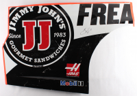 Kevin Harvick Signed Race-Used Jimmy Johns #4 Sheet Metal (PA COA) at PristineAuction.com