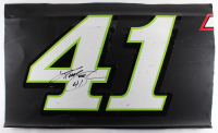 Kurt Busch Signed Race-Used Monster #41 Full Door Sheet Metal (PA COA)