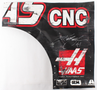 Kurt Busch Signed Race-Used Haas #41 Sheet Metal (PA COA) at PristineAuction.com