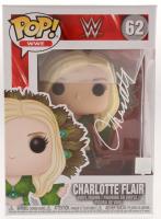 Charlotte Flair Signed WWE #62 Funko Pop! Vinyl Figure (Pro Player Hologram)