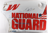 Dale Earnhardt Jr. Signed Race-Used National Guard #88 Quarter Panel Sheet Metal (PA COA)