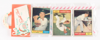 1961 Topps Baseball Unopened Christmas Rack Pack with (12) Cards
