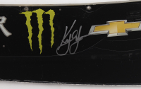 Kyle Larson Signed Race-Used Monster Energy #42 Windshield Nameplate (PA COA) at PristineAuction.com