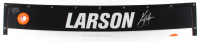 Kyle Larson Signed Race-Used #42 Windshield Nameplate (PA COA) at PristineAuction.com