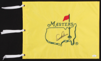 Arnold Palmer Signed Masters Pin Flag (JSA LOA) at PristineAuction.com