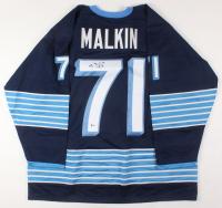 Evgeni Malkin Signed Jersey (Beckett COA)