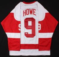 "Gordie Howe Signed Jersey Inscribed ""Mr. Hockey"" (PSA COA)"
